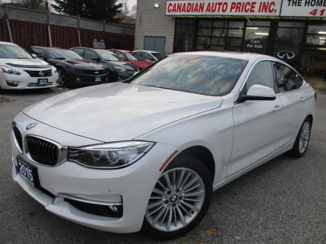2015 BMW 3 Series 328xDRIVE-GT-NAVI-PANO-ROOF-CAMERA-LTHER-BLUETOOTH