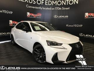 New 2019 Lexus IS 300 Blackline Edition for sale in Edmonton, AB