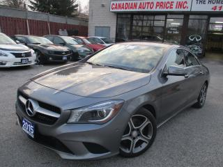 Used 2015 Mercedes-Benz CLA-Class 4MATIC-NAVIGATION-CAMERA-LEATHER-HEATED-BLINDSPOT for sale in Scarborough, ON