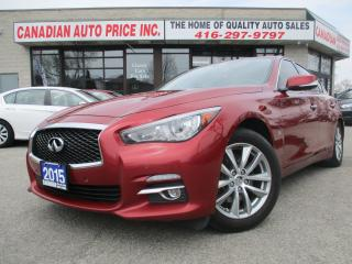 Used 2015 Infiniti Q50 Sport-LIMITED-NAV-CAM-AWD for sale in Scarborough, ON