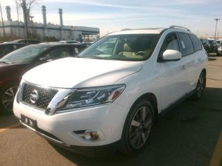 Used 2015 Nissan Pathfinder Platinum-7-PASS-NAV-CAM-TV-DVD for sale in Scarborough, ON