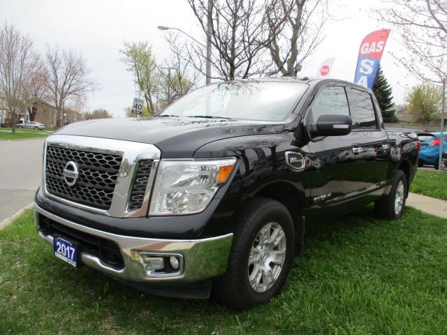 2017 Nissan Titan 4WD-SV--CREU CAB-5.6L-PUSH BUTTON START-BLUETOOTH