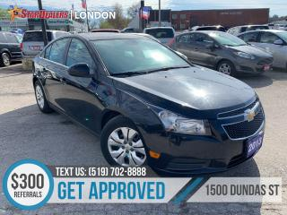 Used 2013 Chevrolet Cruze LT Turbo | CAR LOANS APPROVED for sale in London, ON