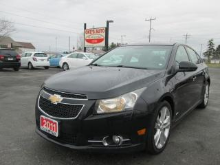 Used 2011 Chevrolet Cruze LTZ for sale in Alvinston, ON