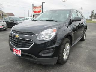 Used 2016 Chevrolet Equinox LS 2WD for sale in Alvinston, ON