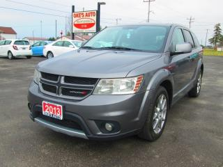 Used 2013 Dodge Journey R/T AWD for sale in Alvinston, ON