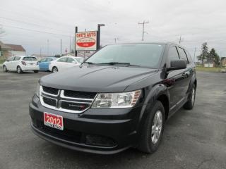 Used 2012 Dodge Journey SE for sale in Alvinston, ON