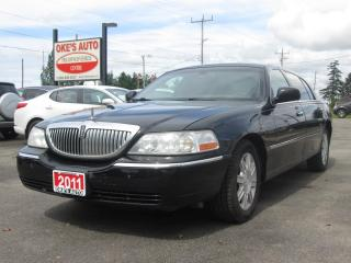 Used 2011 Lincoln Town Car Executive L for sale in Alvinston, ON