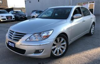 Used 2010 Hyundai Genesis ***BLUETOOTH/SUNROOF/NAVIGATION/ONLY 104 KMS*** for sale in Hamilton, ON