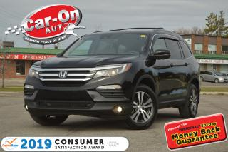 Used 2017 Honda Pilot EX-L w/NAVI 8 SEAT LEATHER SUNROOF REAR CAM LOADED for sale in Ottawa, ON