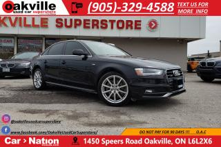 Used 2015 Audi A4 2.0T PROGRESSIV | NAVI | SUNROOF | S-LINE for sale in Oakville, ON