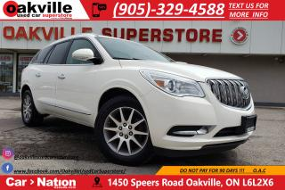 Used 2013 Buick Enclave LEATHER | PANO SUNROOF | BLIND SPOT | B/U CAM for sale in Oakville, ON