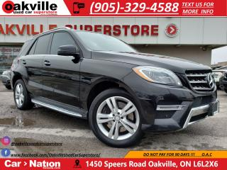 Used 2014 Mercedes-Benz ML-Class 4MATIC | PANOROOF | 360 CAM | NAVI | NEW TIRES | for sale in Oakville, ON