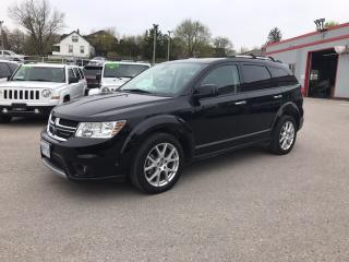 Used 2018 Dodge Journey GT | AWD | Leather | Navigation | Sunroof | DVD | for sale in Mitchell, ON