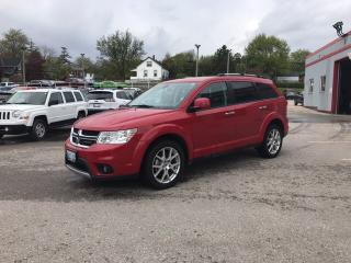 Used 2018 Dodge Journey GT | Leather | Navigation | DVD | Back-up Camera | for sale in Mitchell, ON