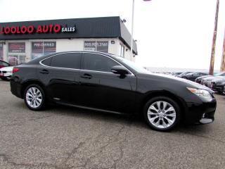 Used 2013 Lexus ES 300 h TOURING HYBRID NAVIGATION CAMERA CERTIFIED 2YR WARRANTY for sale in Milton, ON