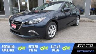 Used 2016 Mazda MAZDA3 GS ** Clean CarFax, One Owner, Manual ** for sale in Bowmanville, ON