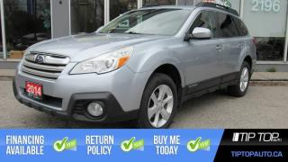 Used 2014 Subaru Outback 2.5i Premium ** Clean CarFax, Remote Start, Heated for sale in Bowmanville, ON