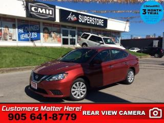 Used 2017 Nissan Sentra SV  CAMERA HTD-SEATS BLUETOOTH PWR-GRP for sale in St. Catharines, ON