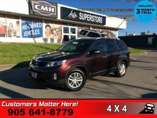 Used 2015 Kia Sorento LX  AWD HTD-SEATS BT AUTO-LIGHTS PARK-SENSORS for sale in St. Catharines, ON