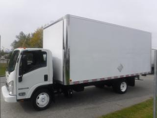 Used 2014 Isuzu NQR Cube Van 20 foot box Diesel 3 passenger for sale in Burnaby, BC