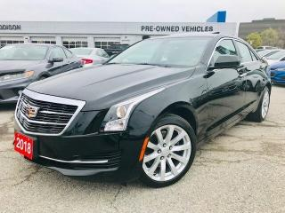 Used 2018 Cadillac ATS 2.0 Turbo Sunroof|Rear CAM|Bose| for sale in Mississauga, ON