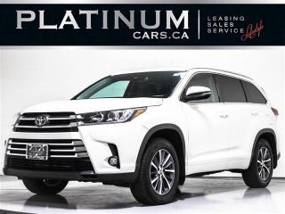 Used 2018 Toyota Highlander XLE 8 PASSENGER, NAVI, BLINDSPOT, Lane Depart for sale in Toronto, ON