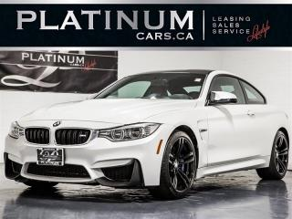 Used 2015 BMW M4 NAVI, CAM, Heads UP DISP, RED Lthr for sale in Toronto, ON
