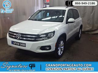 Used 2017 Volkswagen Tiguan Wolfsburg 4Motion *Comme Neuf* for sale in Rivière-Du-Loup, QC