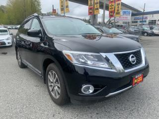 Used 2014 Nissan Pathfinder SL 4WD for sale in Surrey, BC