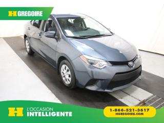 Used 2014 Toyota Corolla CE Bluetooth for sale in St-Léonard, QC
