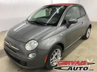 Used 2012 Fiat 500 C CONVERTIBLE POP for sale in Trois-Rivières, QC