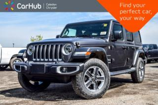 New 2019 Jeep Wrangler Unlimited New Car Sahara 4x4 Dual Top Navi Backup Cam Bluetooth Blind Spot R-Start LED Grp Leather 18