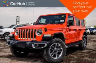 New 2019 Jeep Wrangler Unlimited New Car Sahara|4x4|Dual Top|Navi|Backup Cam|Bluetooth|Blind Spot|R-Start|LED Grp|Leather|18
