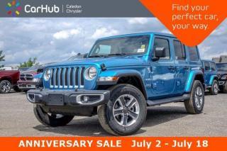 New 2019 Jeep Wrangler Unlimited New Car Sahara|4x4|Sky Pwr Soft Top|Backup Cam|Bluetooth|Keyless Go|18