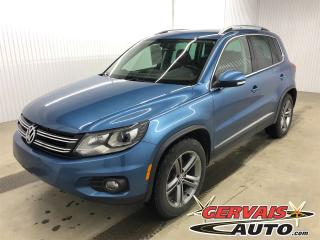 Used 2017 Volkswagen Tiguan Highline 4motion Gps for sale in Trois-Rivières, QC