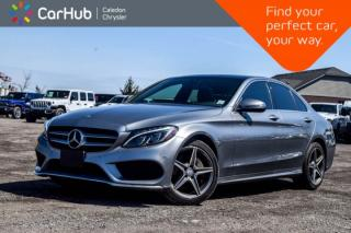 Used 2016 Mercedes-Benz C-Class C 300|4Matic|Navi|Pano Sunroof|Bluetooth|Blind Spot|Keyless|Heated Front Seats|17