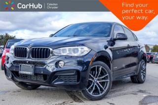 Used 2015 BMW X6 xDrive35i AWD|Navi|Pano Sunroof|Backup Cam|Bluetooth|Leather|Heated Front Seats|20