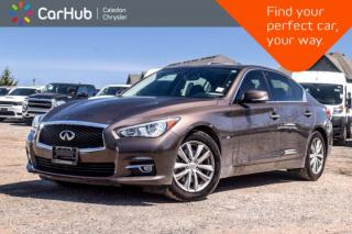 Used 2014 Infiniti Q50 Premium|AWD|Navi|Sunroof|Backup Cam|Bluetooth|Leather|Push Start|17