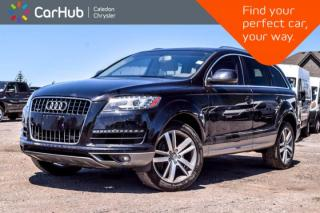 Used 2011 Audi Q7 3.0L Premium|Quattro|7 Seater|Navi|Pano Sunroof|Bluetooth|Backup Cam|Leather|18