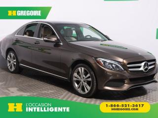 Used 2015 Mercedes-Benz C 300 C 300 AWD CUIR TOIT for sale in St-Léonard, QC