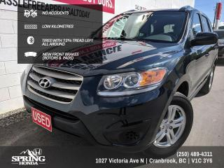Used 2012 Hyundai Santa Fe GL 2.4 NO ACCIDENTS, ONE OWNER, PET-FREE, SMOKE-FREE, LOW KM's - $93 BI-WEEKLY - $0 DOWN for sale in Cranbrook, BC