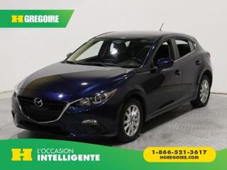 Used 2015 Mazda MAZDA3 SPORT GS A/C GR for sale in St-Léonard, QC