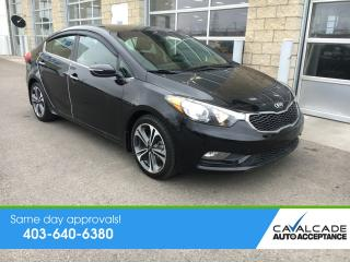 Used 2014 Kia Forte 2.0L EX CLEAN CARFAX, SUNROOF, GDI for sale in Calgary, AB