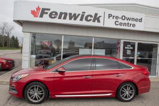 Used 2017 Hyundai Sonata 2.0T Ultimate (Black Piping) for sale in Sarnia, ON
