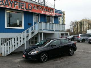 Used 2014 Honda Civic EX Sedan **Auto/Sunroof/Heated Seats/Reverse Cam** for sale in Barrie, ON