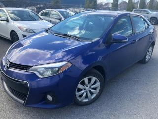 Used 2014 Toyota Corolla S Cuir/camera for sale in St-Eustache, QC