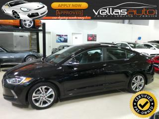 Used 2018 Hyundai Elantra GLS  SUNROOF  LEATHER  R/CAMERA for sale in Vaughan, ON