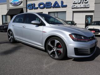 Used 2016 Volkswagen GTI Autobahn LEATHER NAVIGATION MORE... 210 HP. for sale in Ottawa, ON