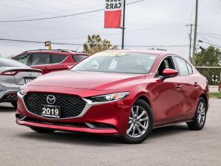 Used 2019 Mazda MAZDA3 GS - 2.5L, HEATED STEERING WHEEL, REAR CAMERA, BLUETOOTH, ALLOY WHEELS for sale in Hamilton, ON